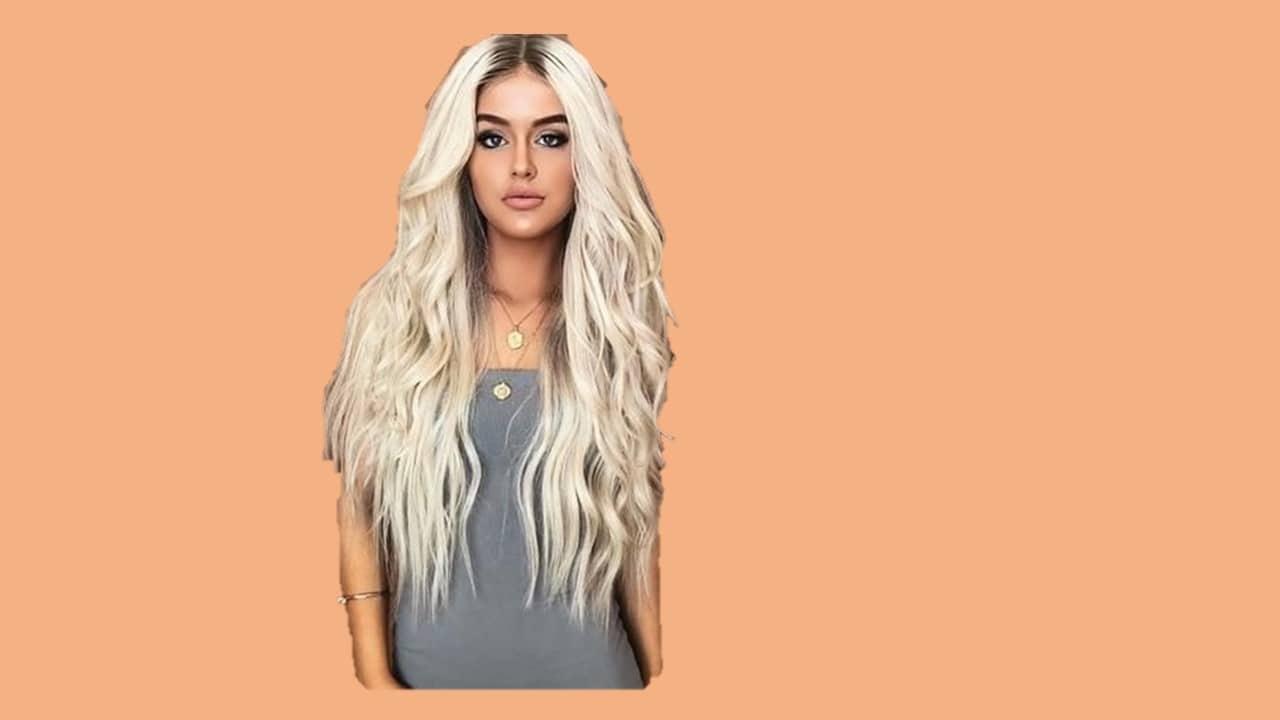 Platinum Raw Indian Blonde Wavy